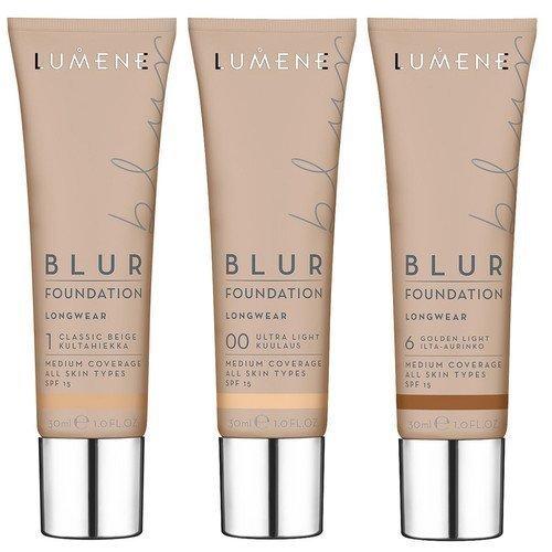 Lumene Blur Foundation 5 Natural Tan / Aurinkoinen