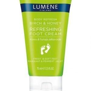 Lumene Body Refresbody Refresh Birch & Honey Refreshing Foot Cream Jalkavoide 75 ml