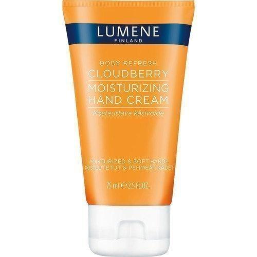 Lumene Body Refresh Cloudberry Moisturizing Hand Cream