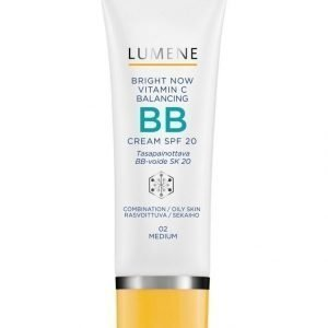 Lumene Bright Now Vitamin C Balansing Bb Cream Spf 20 Bb Voide 50 ml