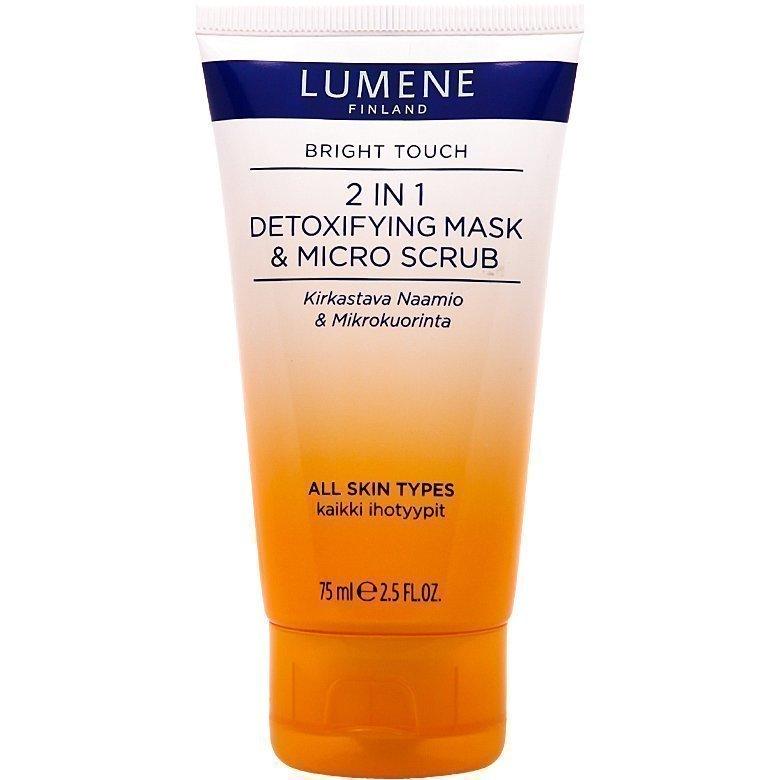 Lumene Bright Touch 2in1 Detoxifying Mask & Micro Scrub 75ml