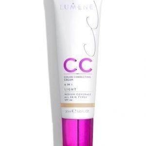 Lumene Cc Color Correcting Cream Meikkivoide 30 ml