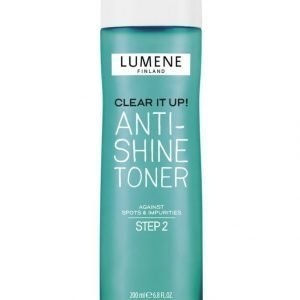 Lumene Clear It Up Anti Shine Toner Kasvovesi 200 ml