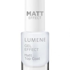 Lumene Gel Effect Matt Top Coat Mattakynsilakka