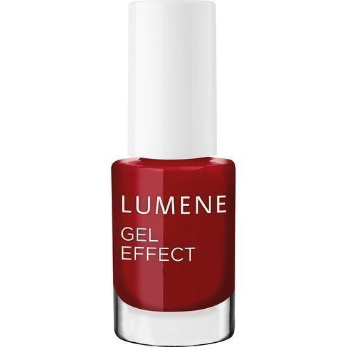 Lumene Gel Effect Nail Polish 19 Fall Red / Kuulas ilta
