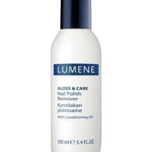 Lumene Gloss & Care Nail Polish Remover Kynsilakanpoistoaine