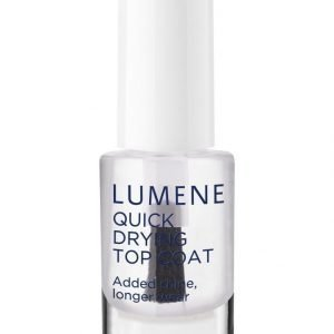 Lumene Gloss & Care Quick Drying Top Coat Pikakuivattava Päällyslakka