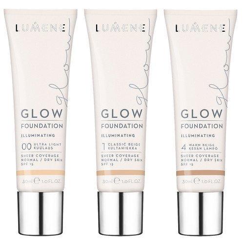 Lumene Glow Foundation 1 Classic Beige / Kultahiekka