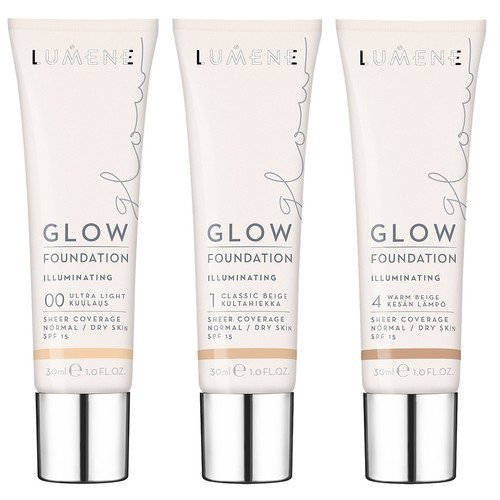 Lumene Glow Foundation 2 Soft Honey / Hunajapilvi
