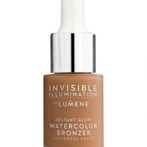Lumene Invisible Illumination Instant Glow Watercolor Bronzer Hehkupisarat 15 ml