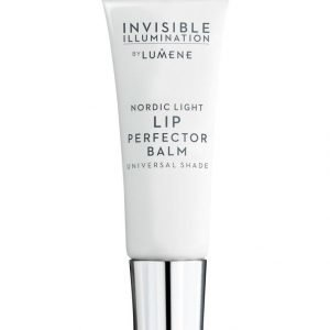Lumene Invisible Illumination Nordic Light Lip Perfector Balm Huulihoide