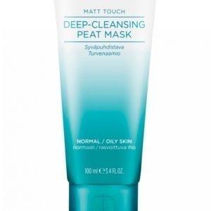 Lumene Matt Touch Deep Cleansing Peat Mask 100 Ml Naamio