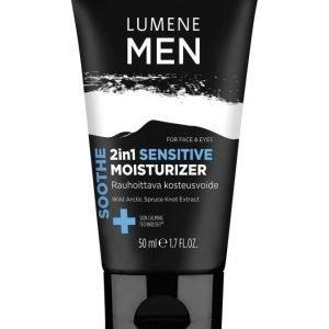 Lumene Men 2in1 Sensitive Moisturizer Rauhoittava Kosteusvoide 50 ml