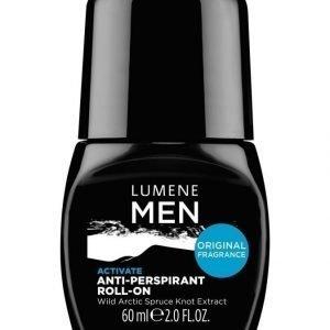 Lumene Men Activate Anti Perspirant Roll On Deodorantti 60 ml