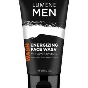 Lumene Men Energizing Face Wash Virkistävä Kasvopesu 150 ml