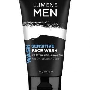 Lumene Men Sensitive Face Wash Hellävarainen Kasvopesu 150 ml