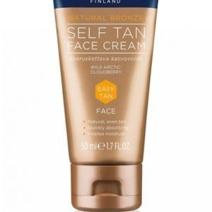 Lumene Natural Bronze Self Tan Face Cream 50 Ml Itseruskettava