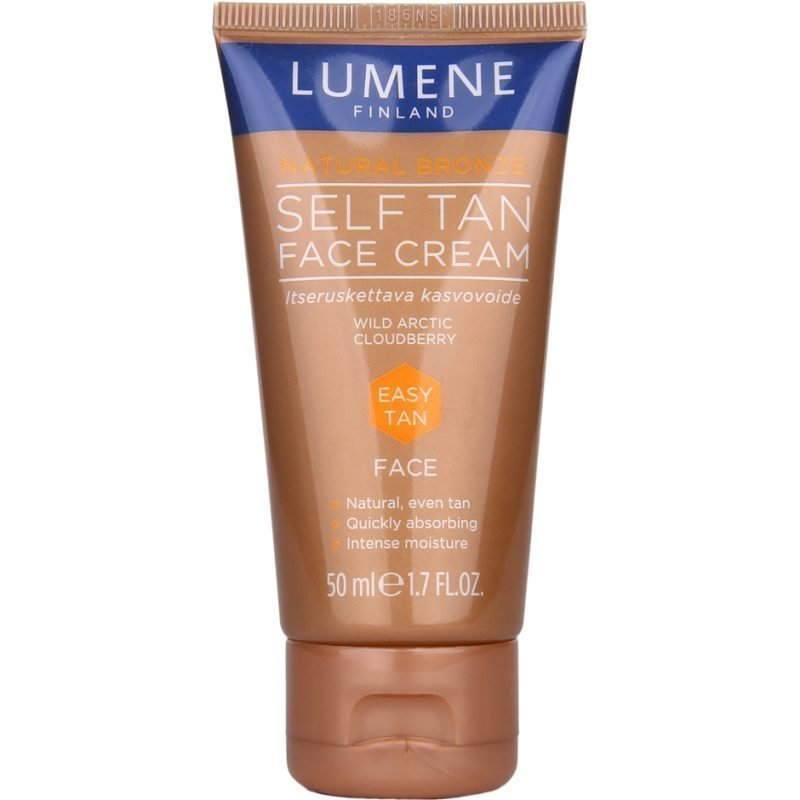 Lumene Natural Bronze Self Tan Face Cream 50ml