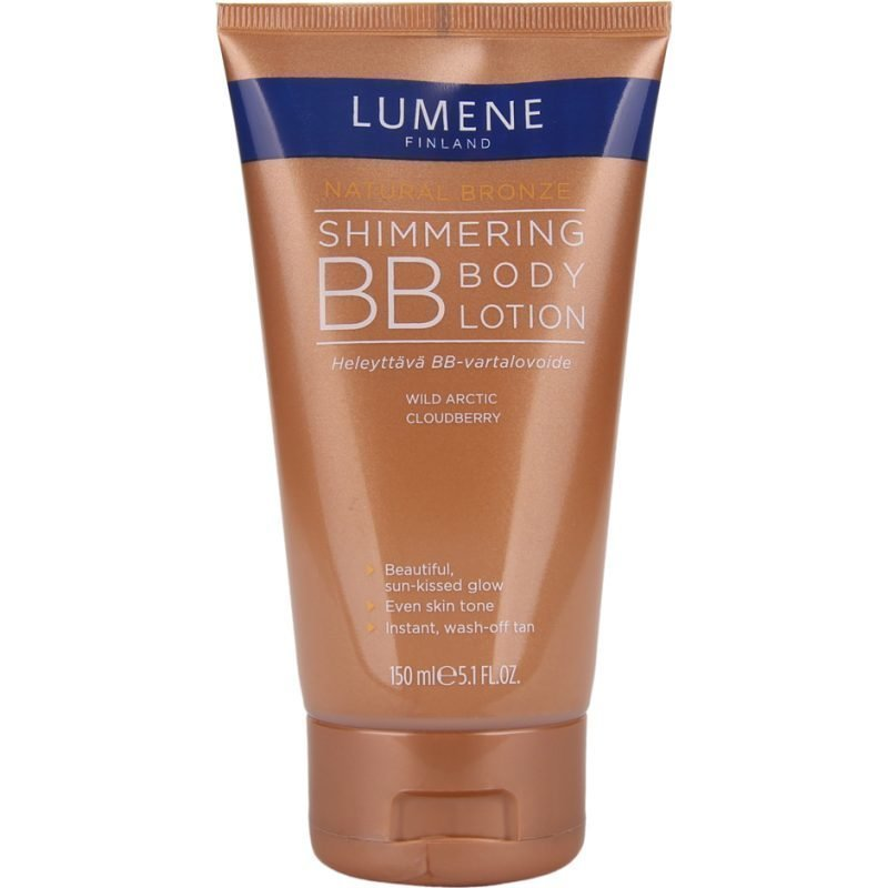 Lumene Natural Bronze Shimmering BB Body Lotion 150ml