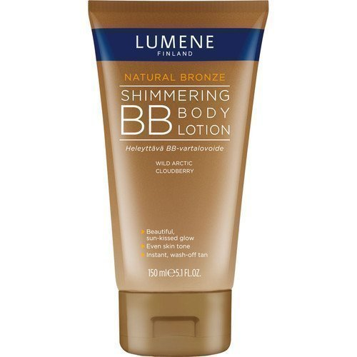 Lumene Natural Bronze Shimmering BB Body Lotion