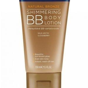 Lumene Natural Bronze Shimmering Bb Body Lotion 150 Ml Vartalovoide