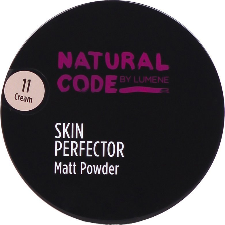 Lumene Natural Code Skin Perfector Matt Powder 11 Cream 10g