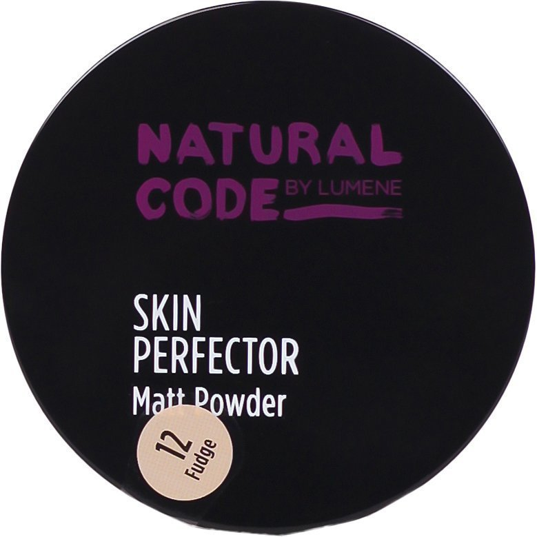 Lumene Natural Code Skin Perfector Matt Powder 12 Fudge 10g