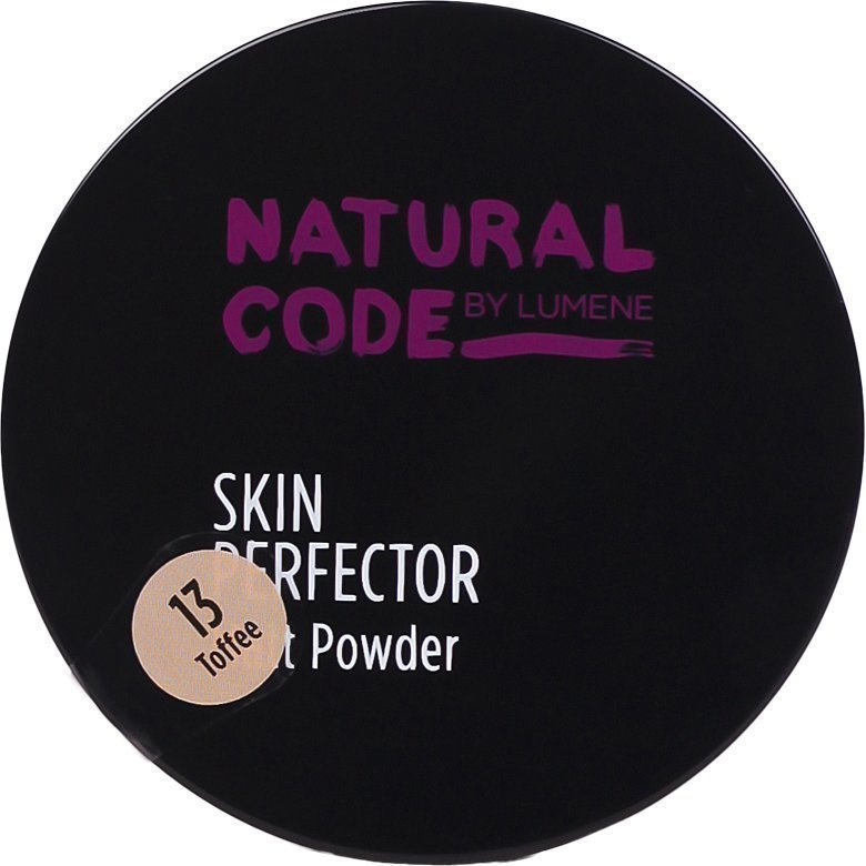 Lumene Natural Code Skin Perfector Matt Powder 13 Toffee 10g