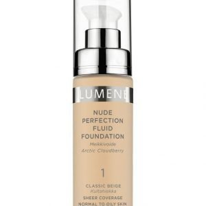 Lumene Nude Perfection Fluid Foundation Kevytmeikkivoide 30 ml
