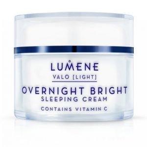Lumene Overnight Bright Vitamin C Sleeping Cream 50 Ml Yövoide