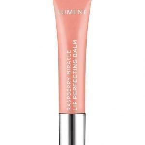 Lumene Raspberry Miracle Lip Perfecting Balm Heleyttävä Huulivoide