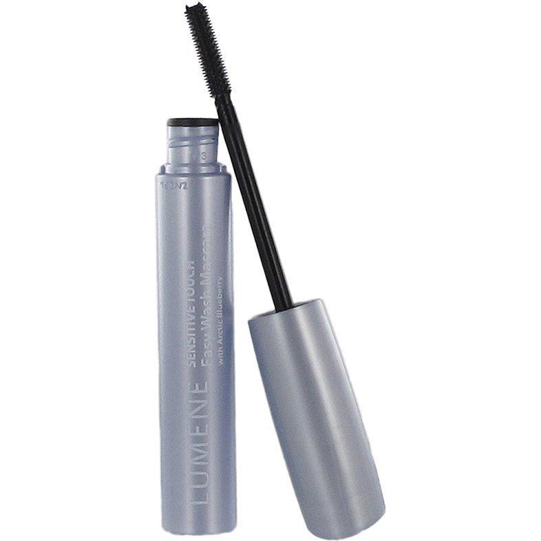 Lumene Sensitive Touch Easy Wash Mascara 1 Deep Black 7ml
