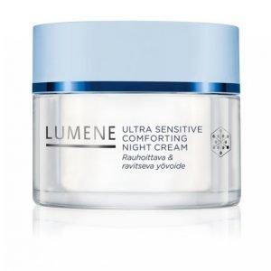 Lumene Ultra Sensitive Comforting Night Cream 50 Ml Yövoide