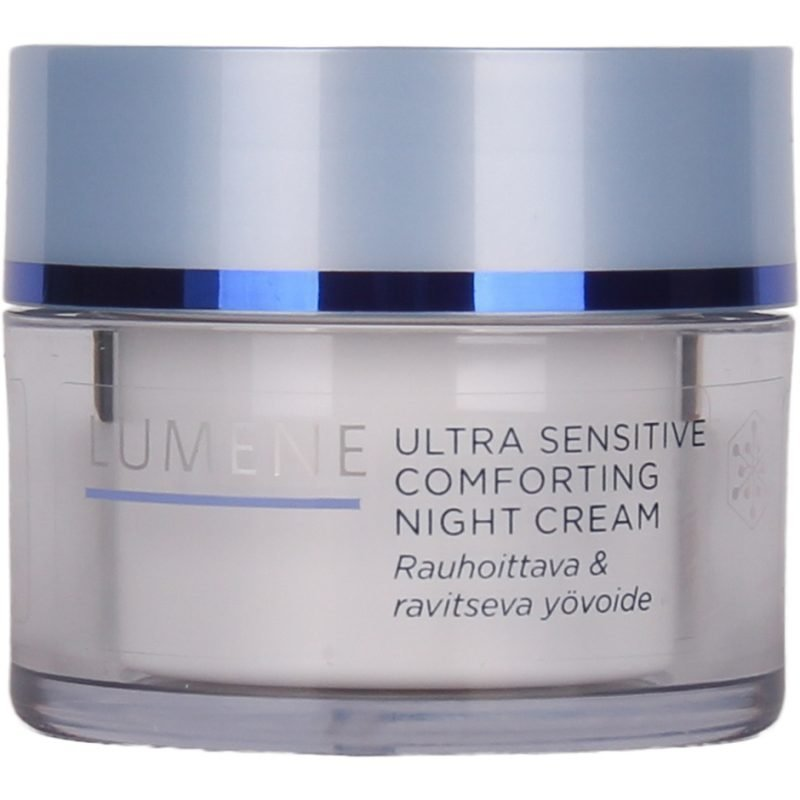 Lumene Ultra Sensitive Comforting Night Cream Skin Calming & Nourishing 50ml