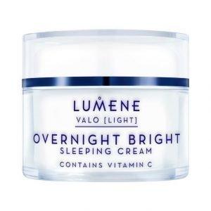 Lumene Valo Overnight Bright Vitamin C Sleeping Cream Uudistava Yövoide 50 ml