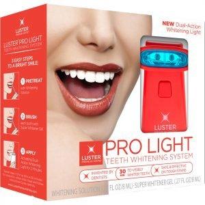 Luster Pro Light Teeth Whitening System Whitening Solution / Gel Dual Action Light 10 Ml