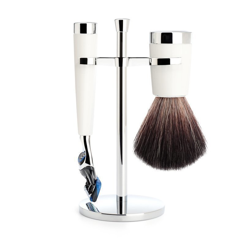 Mühle Razor Fusion  + Shaving Brush