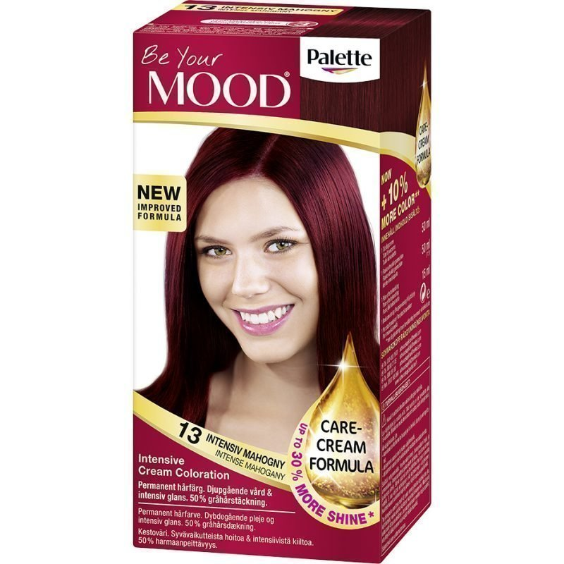 MOOD Hair Colour 4 in 1 No. 13 Intense Mahogany