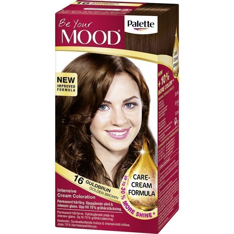MOOD Hair Colour 4 in 1 No. 16 Golden Brown