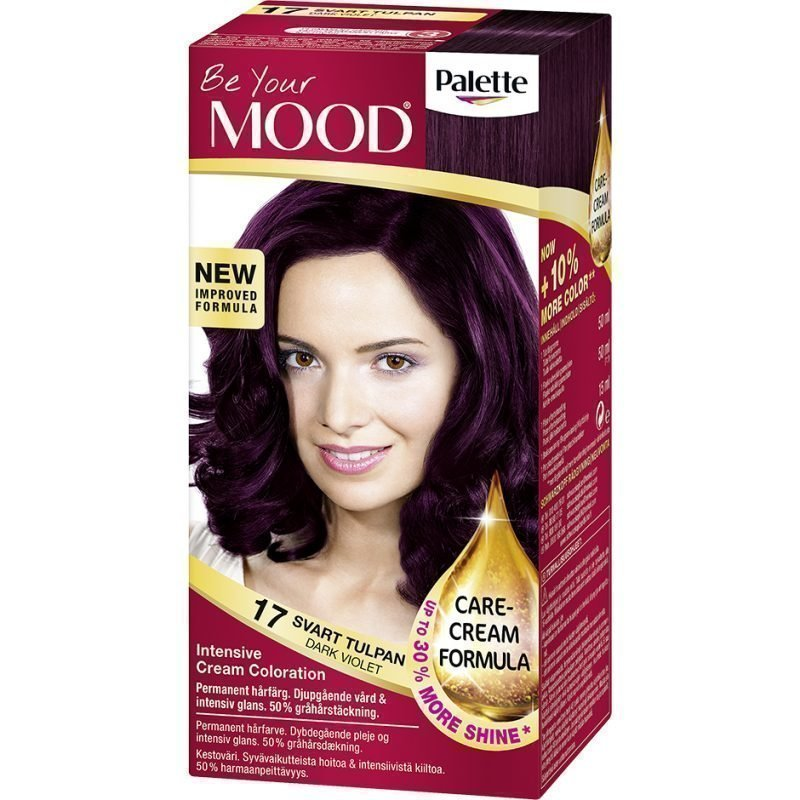 MOOD Hair Colour 4 in 1 No. 17 Black Violet