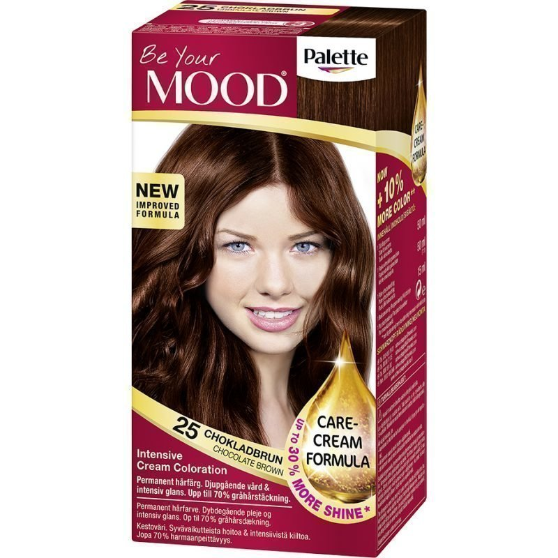 MOOD Hair Colour 4 in 1 No. 25 Chocolate Brown