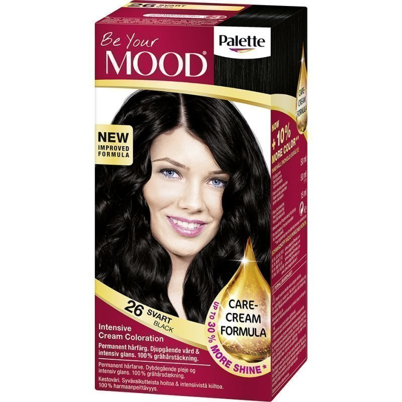 MOOD Hair Colour 4 in 1 No. 26 Black