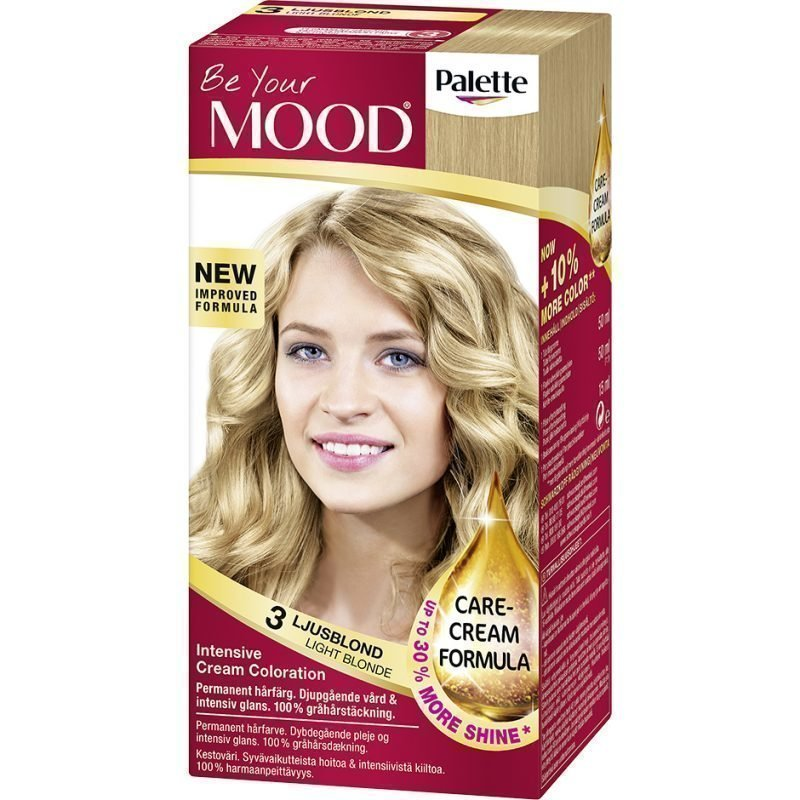 MOOD Hair Colour 4 in 1 No. 3 Light Blonde