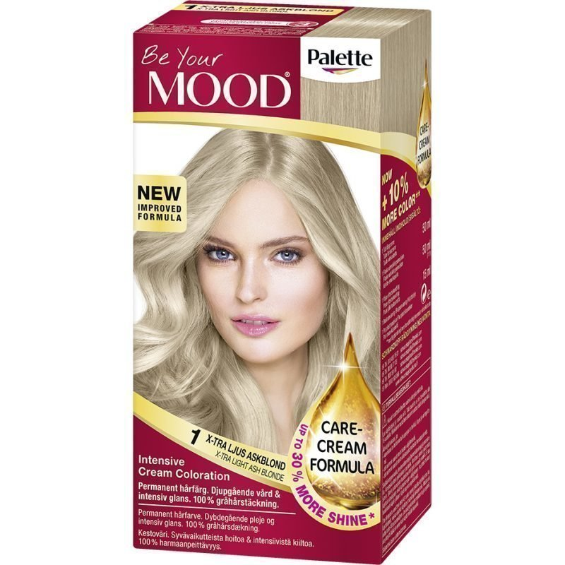 MOOD Hair Colour No. 1 Extra Light Blonde