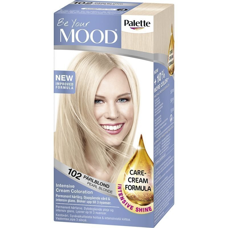 MOOD Hair Colour No. 102 Pearl Blonde