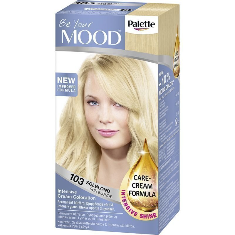 MOOD Hair Colour No. 103 Sun Blonde