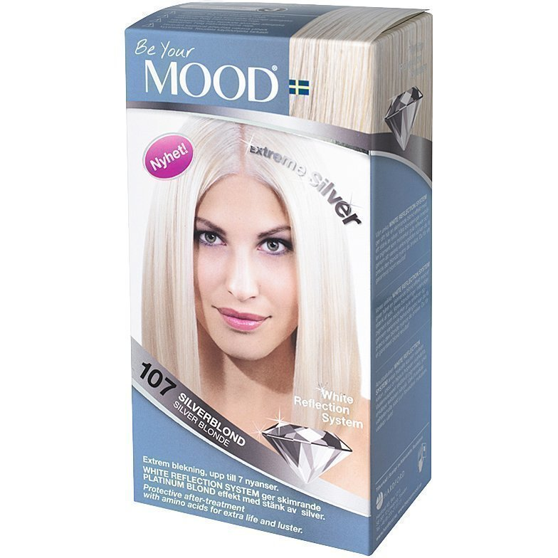 MOOD Hair Colour No. 107 Silver Blonde