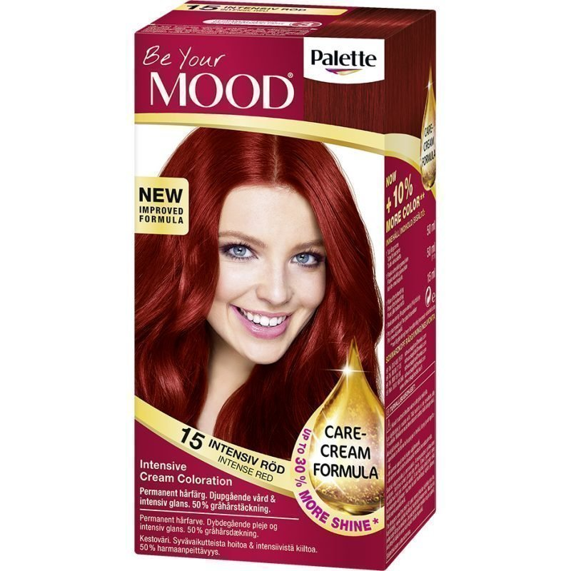 MOOD Hair Colour No. 15 Intense Red