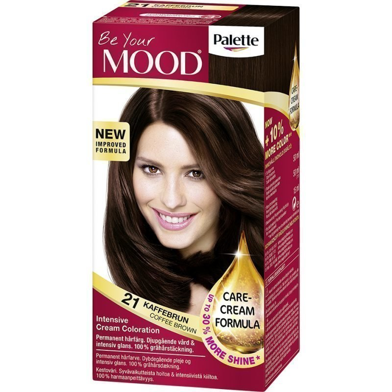 MOOD Hair Colour No. 21 Coffee Brown