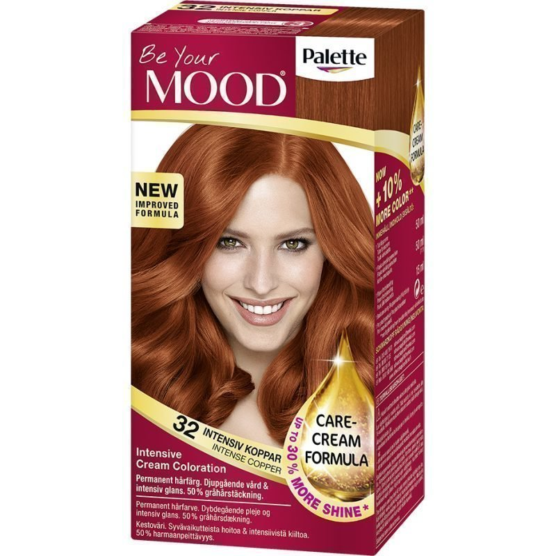 MOOD Hair Colour No. 32 Intensive Copper